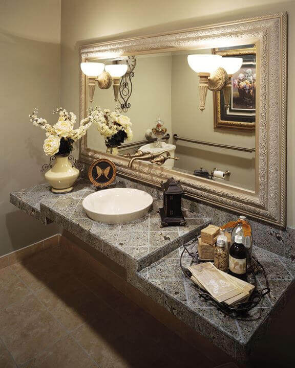 Bathroom at Solutions Dental Implants